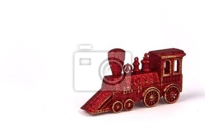 Boże Narodzenie Ozdoba pociągu