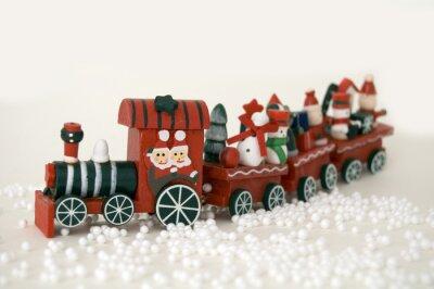 Boże Narodzenie pociąg