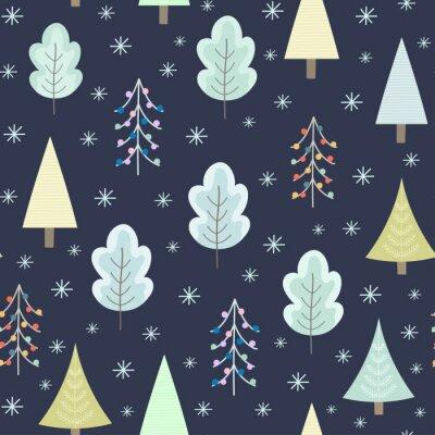 Tapeta Boże Narodzenie w tle. Ilustracji wektorowych