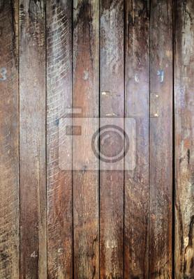 Tapeta Brązowy pasiasty wzór drewna desek wieloryba