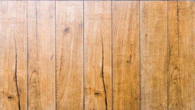 Tapeta Brązowy paski desek wzór drewna
