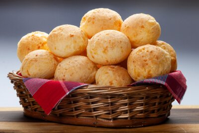Tapeta Brazylijski chleb serowy