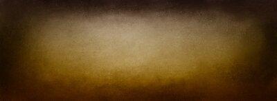 Tapeta Brown vintage background texture, grunge textured black border vignette on earthy golden brown tones in beige or light brown center color, elegant old distressed paper, antique background wall design