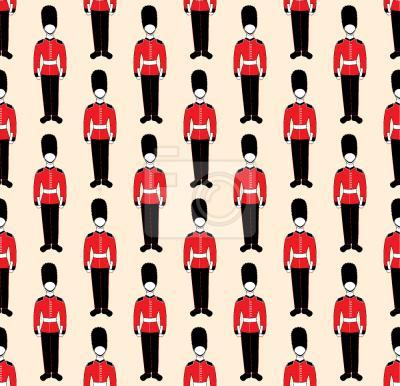 Tapeta brytyjska Parada