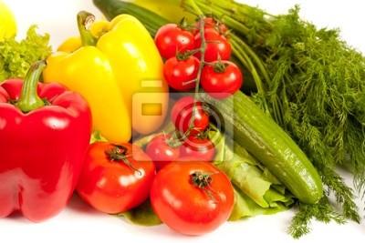 Bukiet świeżych warzyw