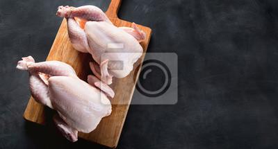 Tapeta Cały surowy kurczak