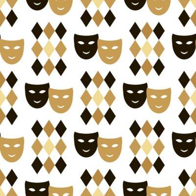 Tapeta Carnival pattern13