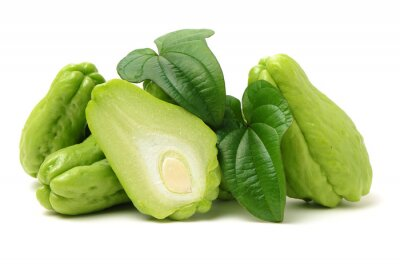 Tapeta Chayote on a white background