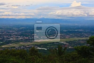 Chiang Mai lotniska i miasta