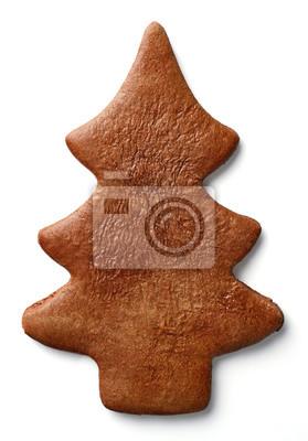 Choinka w kształcie piernika cookie
