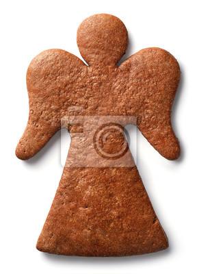 Ciastko w kształcie anioła w kształcie anielca
