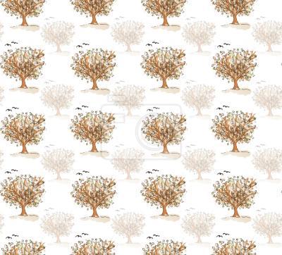 Tapeta Co Drzewa Szeptać Do Ptaków