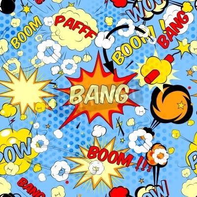 Tapeta comic book speech bubbles