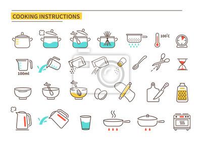 Tapeta cooking instruction