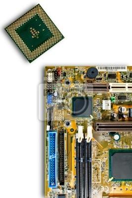 Tapeta CPU i obwodami