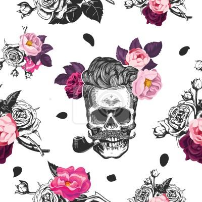 Czaszki I Róże