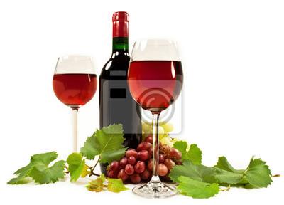 Tapeta Czerwone Wino Czerwony Strona Tło Redropl