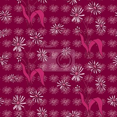 Daisy Kwiaty Fioletowy