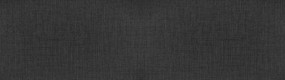 Tapeta Dark anthracite gray black natural cotton linen textile texture background banner panorama