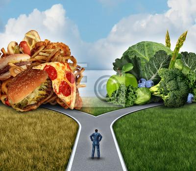 Tapeta Decyzja dieta