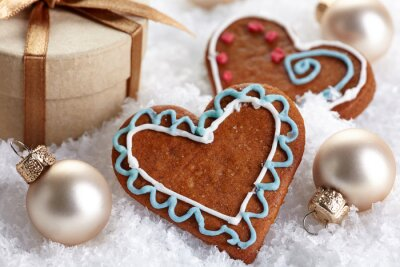 Dekoracje świąteczne i pierniki