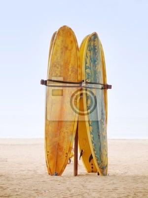 Tapeta Deski surfingowe