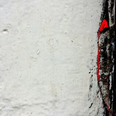 Tapeta Detail Shot Of White Wall