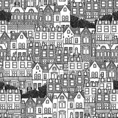 Tapeta domy brytyjskie