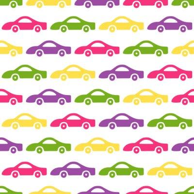 Tapeta Doodle samochodów w tle.