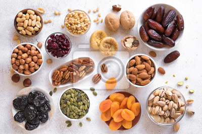 Tapeta Dried Fruits and Nuts