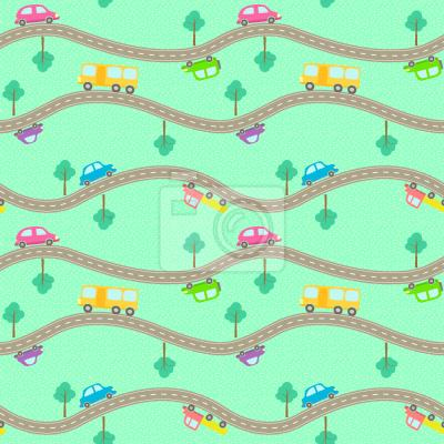 Tapeta Drogi i samochody