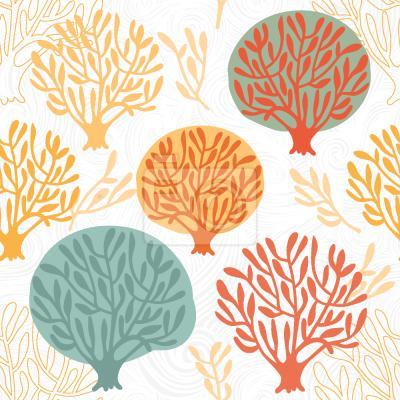 Tapeta Drzewo drzewo Jesienią