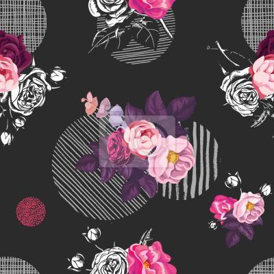 Tapeta Dzika róża