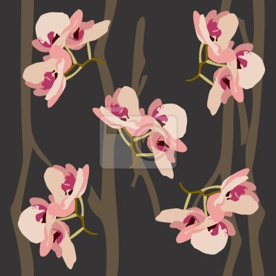 Tapeta Dzikie orchidea