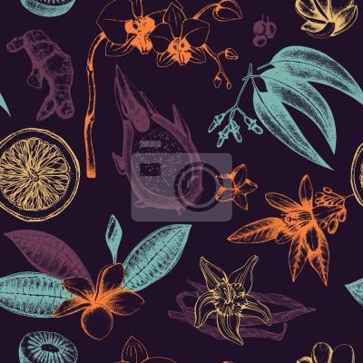 Tapeta Egzotyczne rośliny