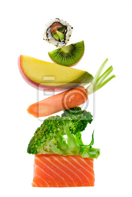 Tapeta equilibre żywności