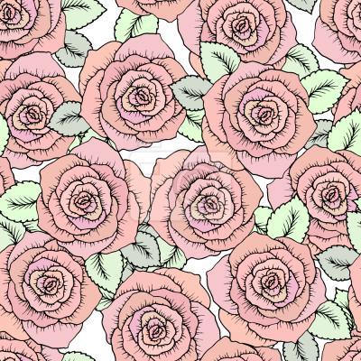 Tapeta Fairytale Roses