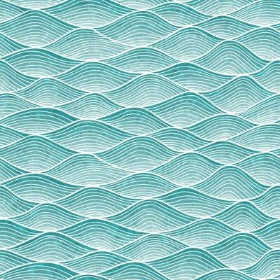 Tapeta Falisty wzór. Ręcznie rysowane abstrakcyjne tło z splątanych linii.