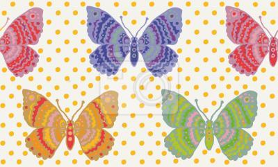 Tapeta Fantastyka Motylowa