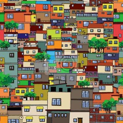 Tapeta Favela