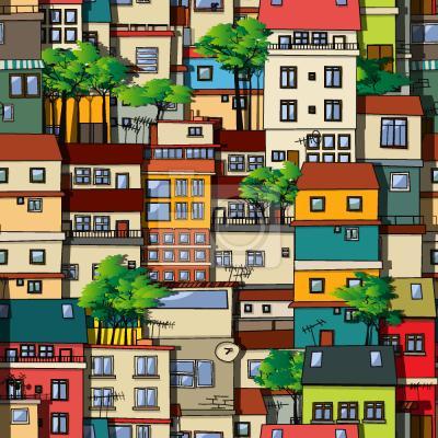 Tapeta Favela Brazylia