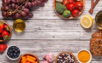 Tapeta Foods that could lower risk of cancer, top view