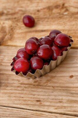 Fresh cherry z ogrodu