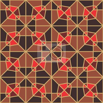 Tapeta geometria czekolady
