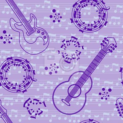 Tapeta Gitara akustyczna Miłość