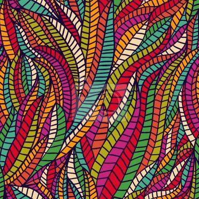 Tapeta Głęboko W kolorowej krainie Hundertwassera