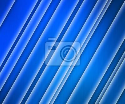 Tapeta Glowing tle paski niebieski