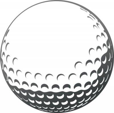 Tapeta golf piłka