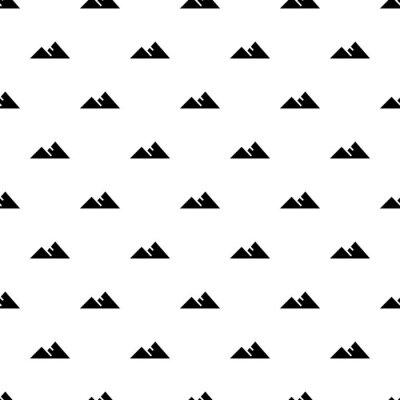 Tapeta Góra wzór bezszwowe wektor powtórzyć dla każdego projektu sieci web