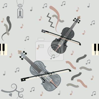 Tapeta Grac na skrzypcach